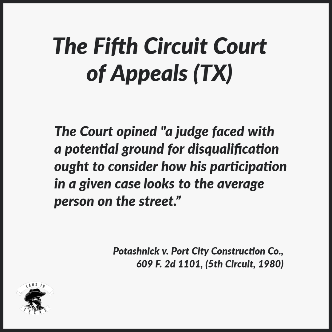 Demand Letter to the Fifth Circuit on Behalf of President